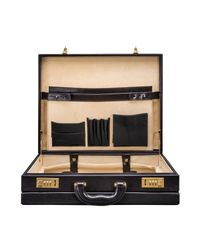 Maxwell Scott Bags - Luxury Black Luxury Attache Case The Strada for Men - Lyst