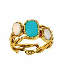 Gozde Atli | Metallic Lucky Charm Candy Rings | Lyst