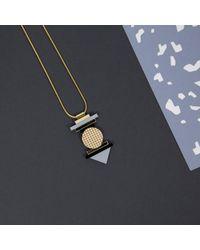 Nylon Sky | Gray Totem Necklace Grey | Lyst