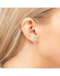 Latelita London | Metallic Hamsa Earring Rose Gold | Lyst