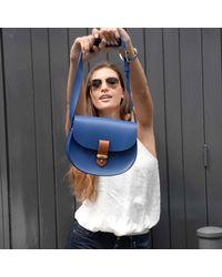 N'damus London - Victoria Blue Cross Body Bag - Lyst