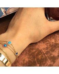 Elham and Issa Jewellery - Blue Awe Diamond Bracelet - Lyst