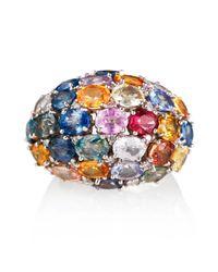 Olivia Grace Jewellery - Multicolor Jasmine Cocktail Ring - Lyst