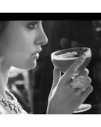 Linnie Mclarty - Metallic Prospector's Ring Silver - Lyst
