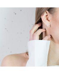ANUKA Jewellery - Metallic Amati Disc Stu Earrings - Lyst