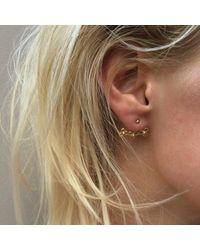 Agnes De Verneuil - Metallic Gold Ear Jacket Jali - Lyst