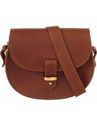 N'damus London - Brown Victoria Tan Cross Body Bag - Lyst