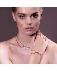 Cara Tonkin - Metallic Orbit Bar Bracelet Gold - Lyst