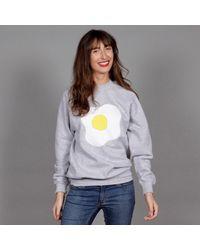 McIndoe Design - Gray Grey Egg Sweatshirt - Lyst