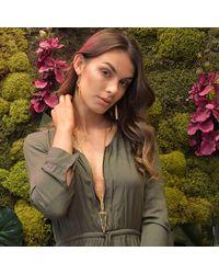Tiana Jewel - Tara Green Necklace Muret Collection - Lyst