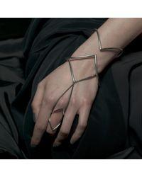 Ware London Metallic Ditto Ring