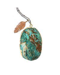 Brave Lotus - Multicolor Ocean Dreaming Necklace - Lyst
