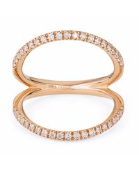 Sarah Ho - Sho - Metallic Numerati Ring Rose Gold Lucky Number 8 - Lyst