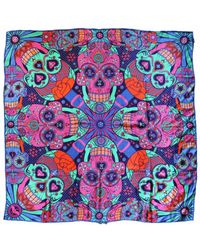 Furious Goose - Multicolor We're All Going To Die, Pucci Large Silk Scarf - Lyst
