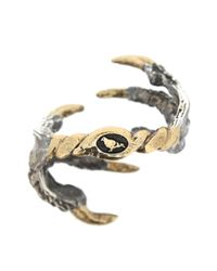 Tessa Metcalfe - Black Oxidised Pigeon Grasp Ring - Lyst