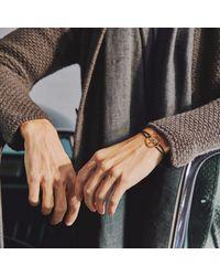 The Mechanists - Gold Steering Wheel On Cobalt Blue Cord for Men - Lyst