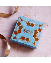 Ottoman Hands Alba Blue Agate & Aqua Chalcedony Beaded Earrings