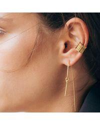 Dutch Basics - Metallic Knot Earring Gold Plated - Lyst