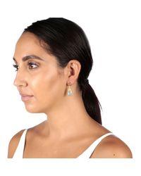 Carousel Jewels | Metallic Chalcedony & Tourmaline Gold Earrings | Lyst