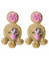 Ricardo Rodriguez Design - Multicolor Spiral Earrings - Lyst