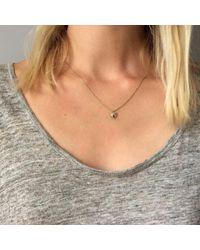 Agnes De Verneuil - Metallic Gold Necklace Small Heart - Lyst