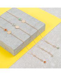Auree Jewellery - Metallic Bali December Birthstone Bracelet Turquoise - Lyst