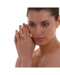 Alexandra Alberta Metallic Belle Quartz Ring