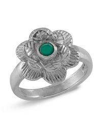 Emma Chapman Jewels - Gyspsy Rose Green Onyx Ring - Lyst
