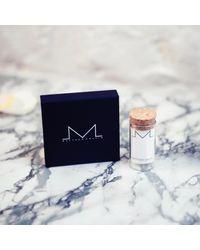 Matthew Calvin | Metallic Large Cut Off Studs Gold | Lyst