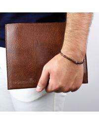 Esenelle | Brown Austin Bracelet for Men | Lyst