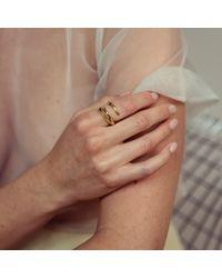 Nina Kastens Jewelry - Metallic Ring Dora Silver - Lyst