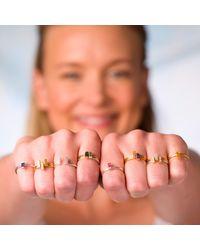 Nancy Rose Jewellery | Metallic Ingot Ring Silver | Lyst