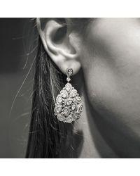 Latelita London - Multicolor Peacock Earring Rosegold - Lyst