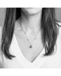 Auree Jewellery | Metallic Isla Aqua Chalcedony & Gold Necklace | Lyst