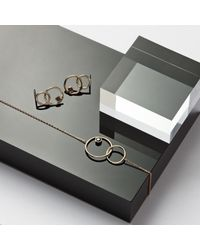 Monarc Jewellery - Metallic The Meridian Night Necklace 9ct Gold + Black Spinel - Lyst