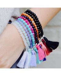 JIYA | Blue Fiji Bracelet Aqua | Lyst