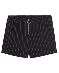 Lindsay Nicholas New York Black Menswear Striped Boxer M.i.n.y. Pant