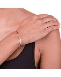 Sadekar Jewellery - Multicolor Emerald Seed Flower Bracelet - Lyst