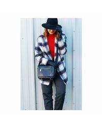 Jennifer Hamley - Mini Kt Leather Crossbody Handbag In Black - Lyst