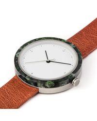 Flint Watches - Multicolor Aravalli Marble Burnt Amber Strap - Lyst