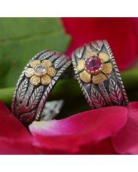 Emma Chapman Jewels Red Enchantment Ruby Ring