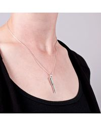 Edge Only - Metallic Screwdriver Pendant In Silver - Lyst