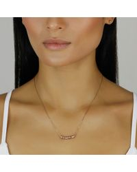 Lee Renee Multicolor Loveliness Of Ladybird Necklace – Rose Gold