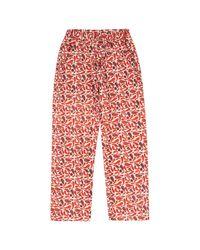 McIndoe Design Red Chilli Trousers for men