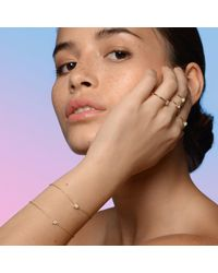 Aletheia & Phos Metallic Cor Luna Bracelet White Topaz