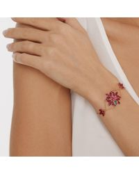 Joana Salazar - Red Ruby Blossom Large Bracelet - Lyst
