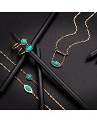 Elham and Issa Jewellery - Blue Awe Sapphire Ring - Lyst