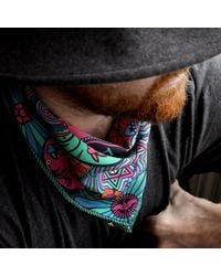 Furious Goose - Multicolor We're All Going To Die Silk Pocket Square Pucci for Men - Lyst