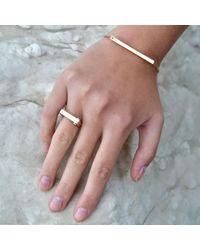 Opes Robur - Multicolor Rose Gold Slim Plaque - Lyst