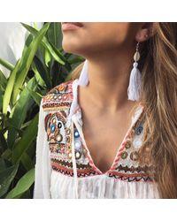 Yucama - Multicolor Bali Bliss Earrings - Lyst